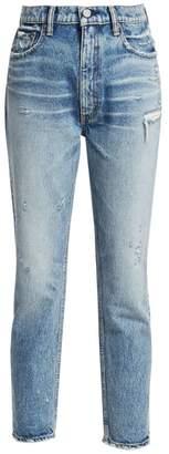 Moussy Vintage Everett High-Rise Boyfriend Skinny Ankle Jeans