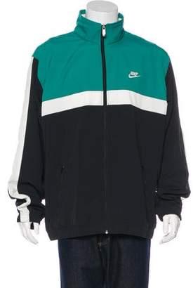 Nike Logo-Embroidered Jacket w/ Tags