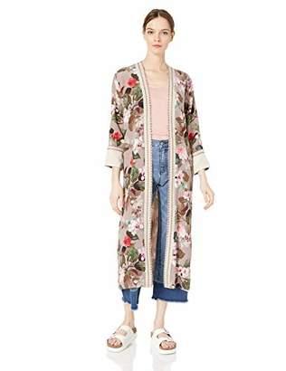 3J Workshop by Johnny Was Women's Full Length Kimono Jacket