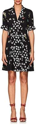 Derek Lam Women's Multi-Floral Silk Dress