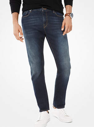 Michael Kors Parker Slim-Fit Selvedge Jeans $179 thestylecure.com