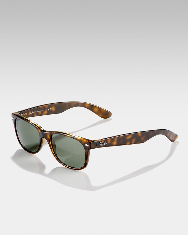 Ray Ban Wayfarer Sunglasses, Black