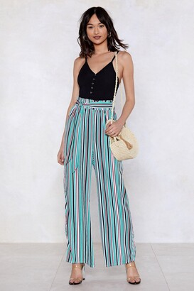 Nasty Gal It's Your Line Wide-Leg Pants
