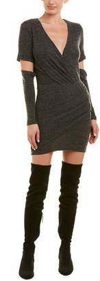 IRO Ilom Wool-Blend Faux Wrap Dress