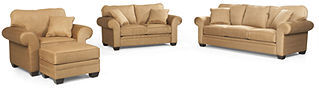 Raja 4-Piece Set: Sofa, Love Seat, Chair and Ottoman