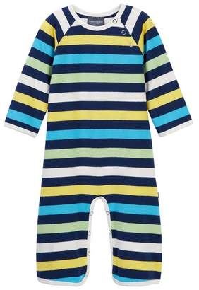 Toobydoo Baxley Striped Footie (Baby Boys)