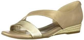 Anne Klein Women's Nancie Wedge Sandal