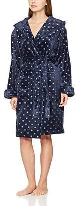 Dorothy Perkins Women's Foil Star Robe Dressing Gown,(Manufacturer Size: M)