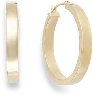 Macy's Bold Hoop Earrings in 10k Gold, 25mm
