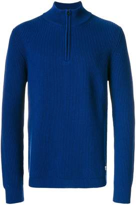 C.P. Company roll neck zip pullover