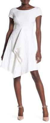 HUGO Klenia Boatneck Fit & Flare Dress