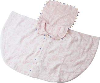 UCHINO (ウチノ) - UCHINO Disney ベビーポンチョ プチフィールド (ベビー80cm) ピンク