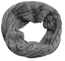 MANGO Cable-knit scarf