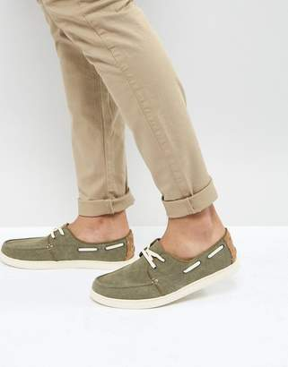 Toms Culver Boat Shoes In Brown