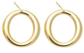 Tiffany & Co. Elsa Peretti 18K Yellow Gold Large Hoop Earrings