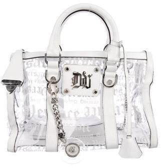 Versace Monogram PVC Handle Bag