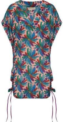Emilio Pucci Printed Silk Crepe De Chine Coverup
