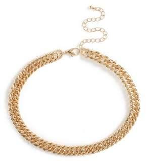 Topman Mens Gold Chain Choker*