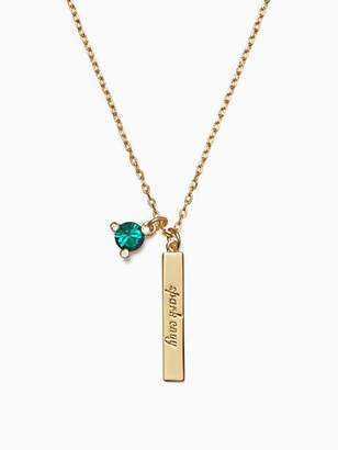 Kate Spade Born to be may pendant
