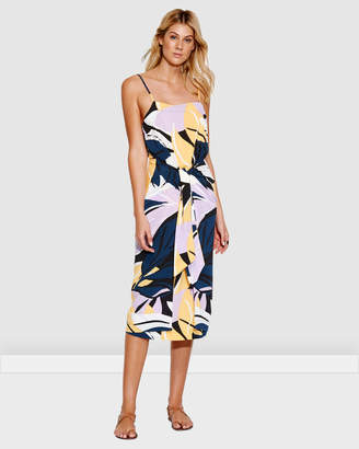 Seafolly Cut Copy Tie front Slip Dress