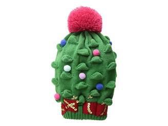 San Diego Hat Company Kids Christmas Tree Knit Cap (Little Kids/Big Kids)