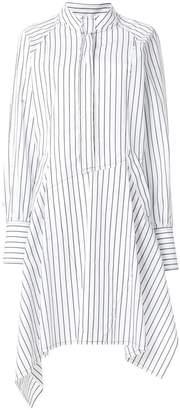 J.W.Anderson striped asymmetric shirt dress