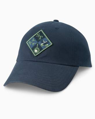 Southern Tide Campside Patch Waxed Hat