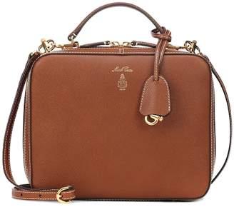 Mark Cross Laura leather shoulder bag