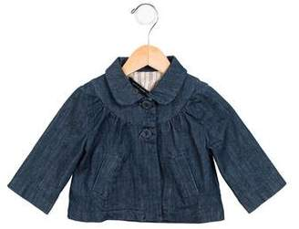 Little Marc Jacobs Girls' Chambray Jacket