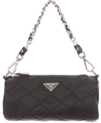 prada Prada Quilted Tessuto Mini Bag