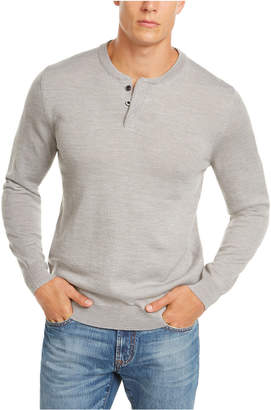Club Room Men Henley Sweater