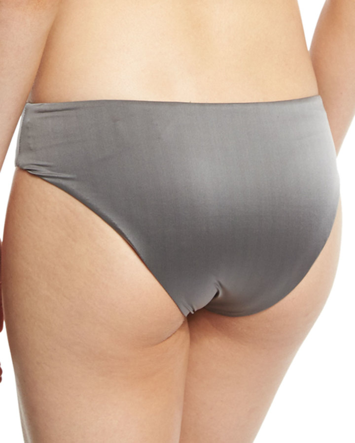 Luxe by Lisa Vogel Liquid By Luxe Twisted Hipster Swim Bottom 3