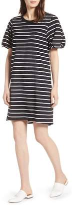 Halogen Bubble Sleeve Dress (Regular & Petite)