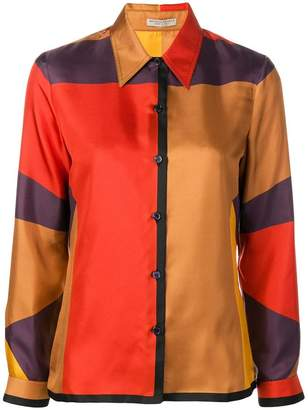 Bottega Veneta colourblock shirt