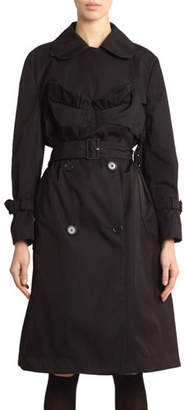Simone Rocha Bustier Trench Coat