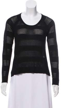 Rag & Bone Perforated High-Low Sweatshirt
