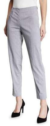 Piazza Sempione Monia Long Side-Zip Capris