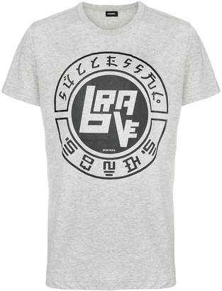 Diesel front printed T-shirt