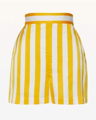Juicy Couture Awning Stripe Satin Short