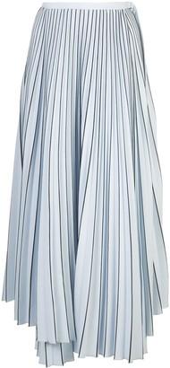 Proenza Schouler striped pleated skirt