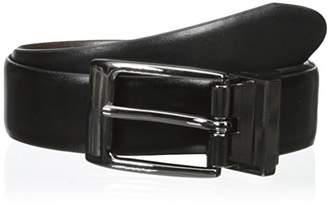 Dockers Boys' 28mm Feather Edge Reversible Boys Belt
