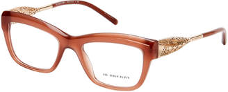 Burberry BE2211 Light Brown Angular Cat Eye Optical Frames