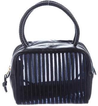 Loewe Leather & Mesh Handle Bag