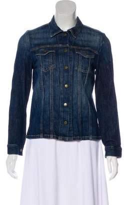 Current/Elliott Collar Denim Jacket