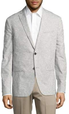 John Varvatos Patterned Two-Button Jacket