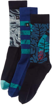 Richer Poorer Pack Of 3 Socks