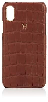 Hadoro Alligator iPhone® X Hard Case - Brown