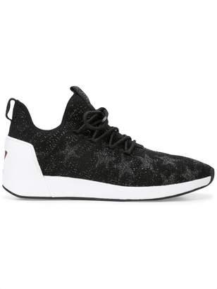 Ash Jaguar star embellished sneakers