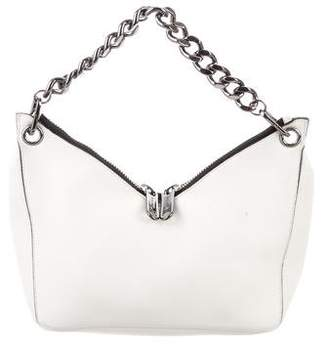 Jimmy Choo Leather Embellished Crossbody Bag