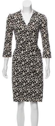 Diane von Furstenberg Printed Julian Dress
